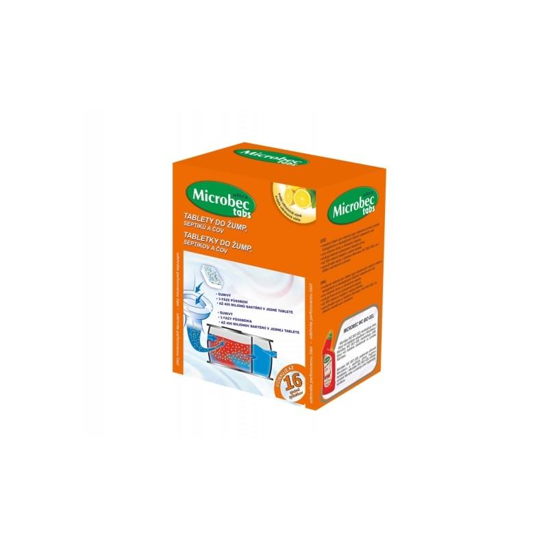 BROS Microbec do žump, septiků a ČOV tablety 16x20g