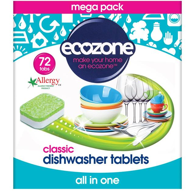 ECOZONE Tablety do myčky classic 72ks