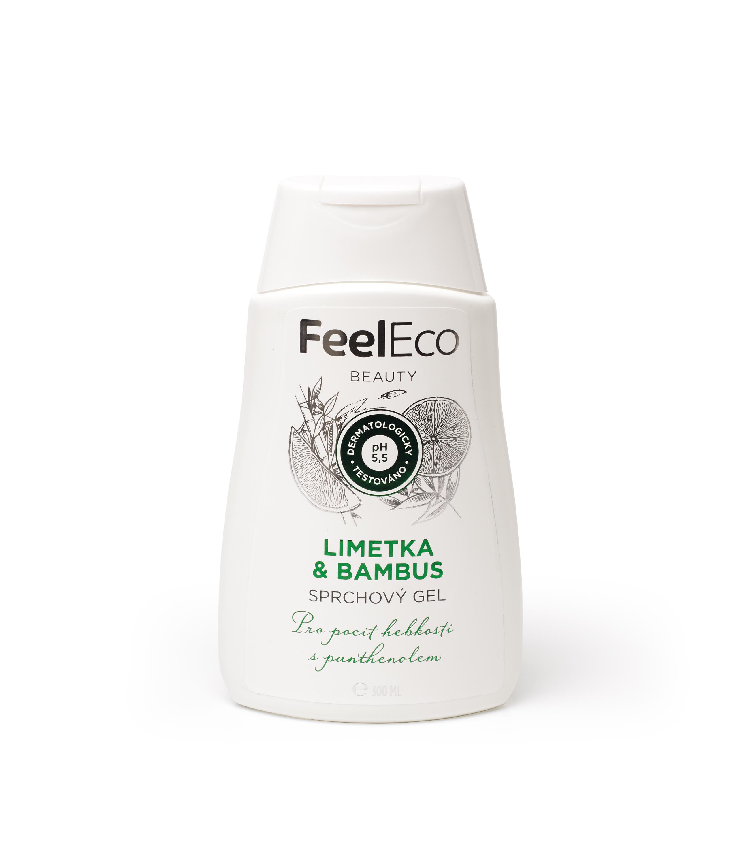 Feel Eco sprchový gel limetka a bambus 300ml