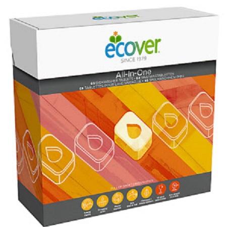 ECOVER tablety do myčky All In One 65ks