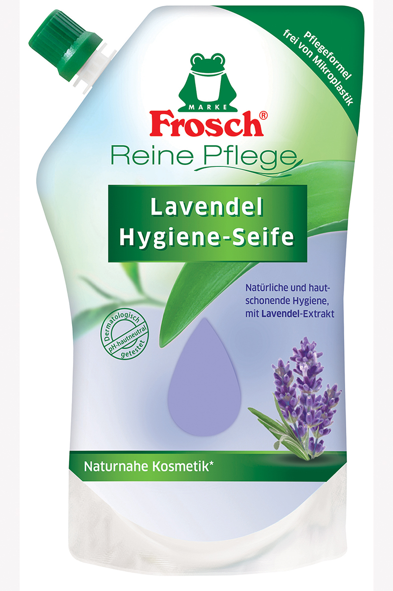 Frosch EKO Tekuté mýdlo Levandule náhradní náplň 500ml