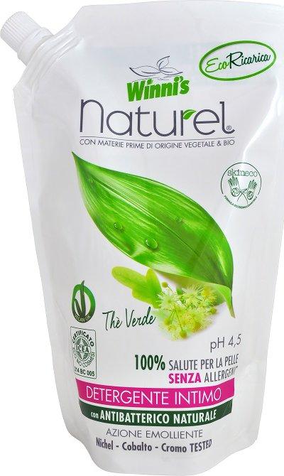 Winni´s Naturel Sapone Intimo Thé Verde Ecoricarica 500ml