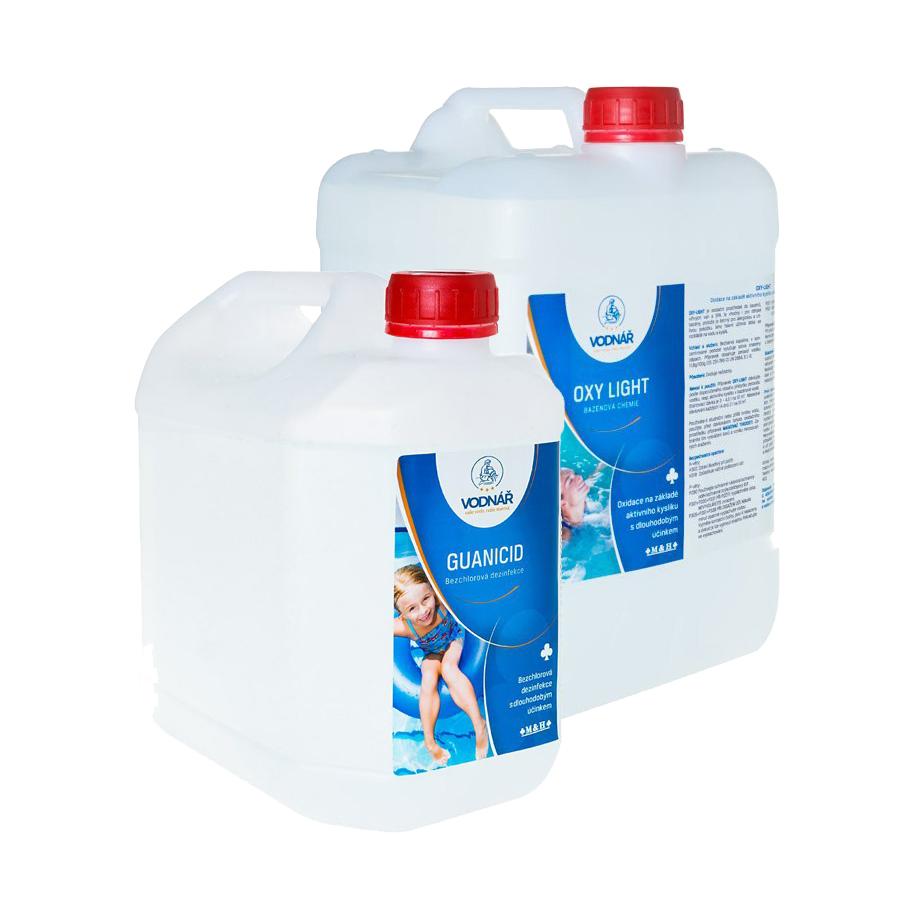 Vodnář Sada čistý bazén bez chloru