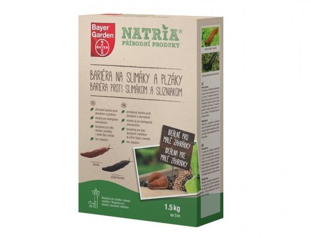 NATRIA Bariéra na slimáky a plzáky 1,5kg