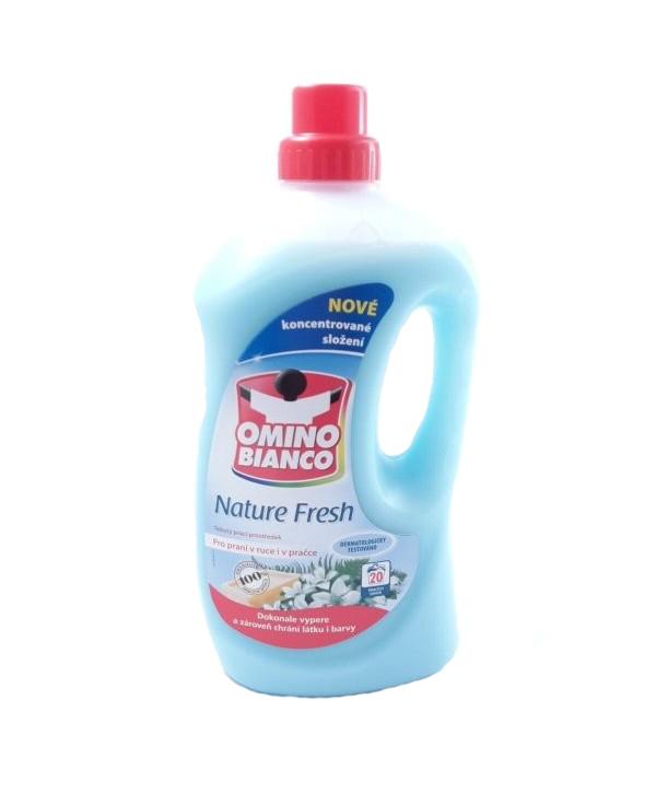 Omino Bianco Nature fresh tekutý prací prostředek 1,5l