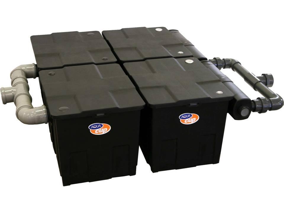 AQUAcup omega 4-CUV 236 beztlaková jezírková filtrace