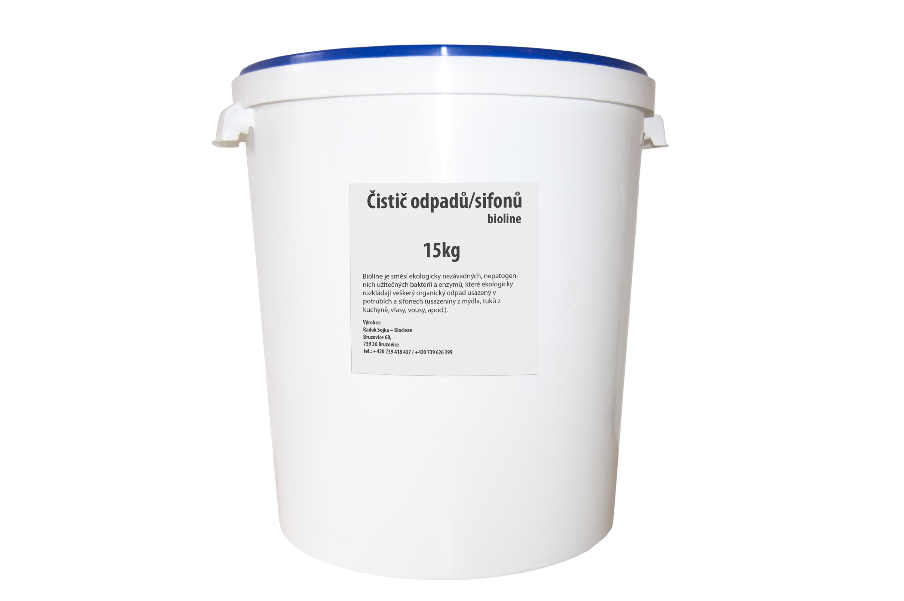 Bioline čistič odpadů 15kg