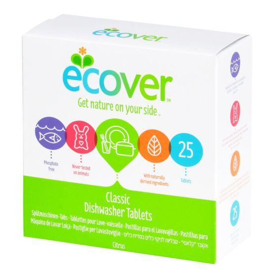 Ecover tablety do myčky Classic 500g 25ks