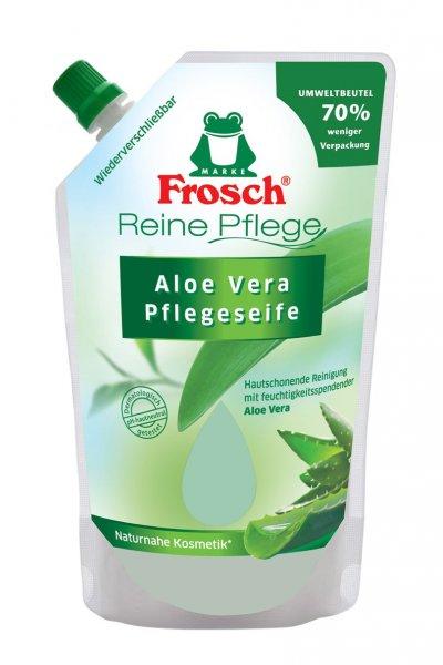 Frosch tekuté mýdlo Aloe Vera náhradní náplň 500ml
