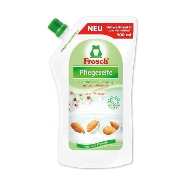 Frosch tekuté mýdlo Mandle náhradní náplň 500ml