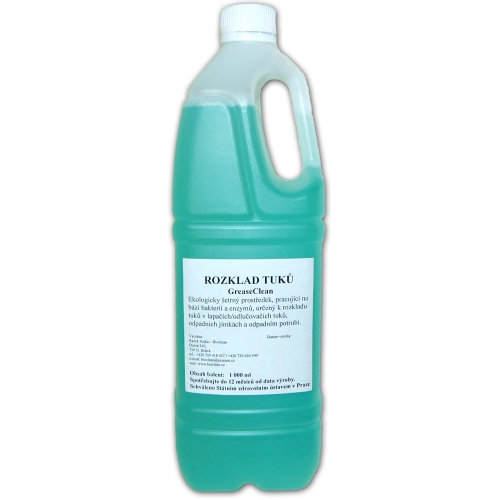 Bioclean GreaseClean na rozklad tuků 1l