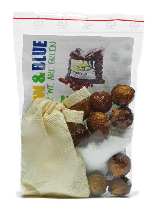 Yellow & Blue Pods Mýdlové ořechy testovací sada