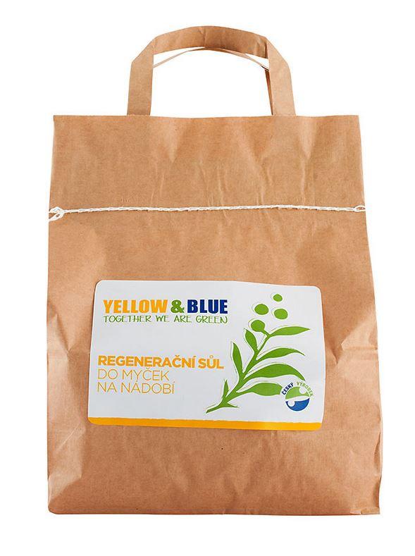 Yellow & blue regenerační sůl do myčky 5kg