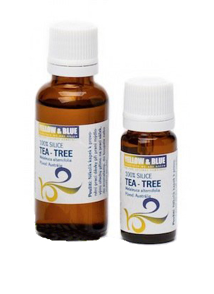 Yellow & Blue Tea-tree silice 10ml