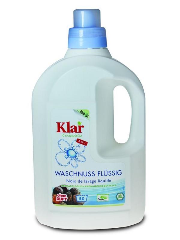 KLAR Tekuté mýdlové ořechy na praní 1,5l