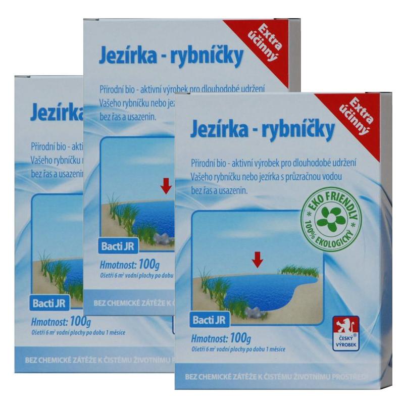 Baktoma Jezírka a rybníčky Bacti JR 100g 2+1
