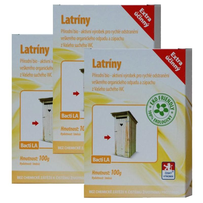 Baktoma Latríny Bacti LA 100g 2+1