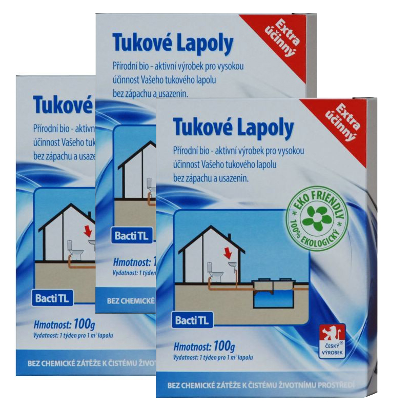 Baktoma Tukové lapoly Bacti TL 100g 2+1