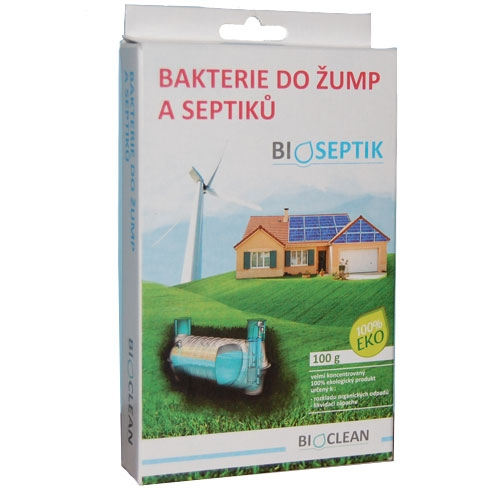Bioseptik bakterie do žump a septiků 100g