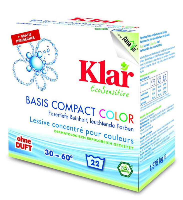 KLAR Prací prášek COLOR 1,375 Kg