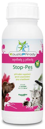 Kouzlo přírody Stop Pes granulát 200g