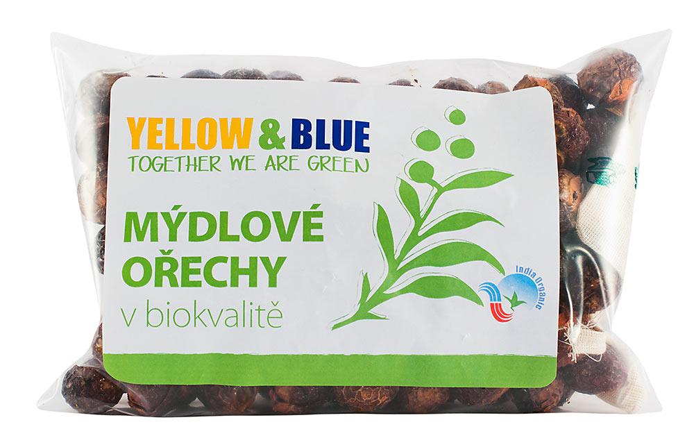 Yellow & Blue Pods Mýdlové ořechy 250g