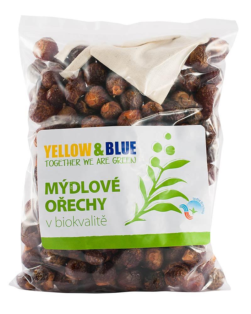 Yellow & Blue Pods Mýdlové ořechy 1000g