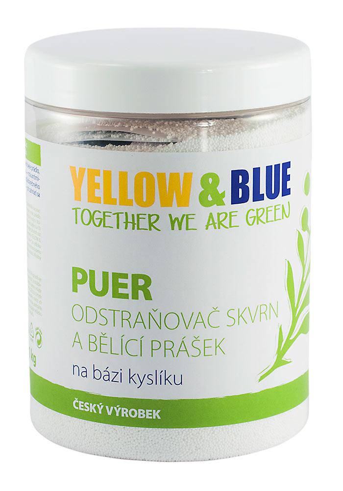 Yellow & Blue Bělící prášek PUER dóza 1000g