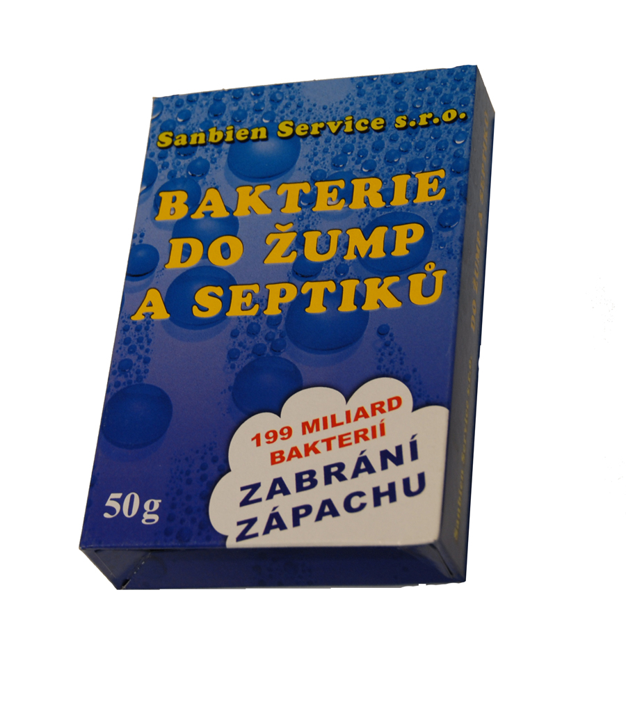 Sanbien Superkoncentrát bakterie do žump a septiků 50g
