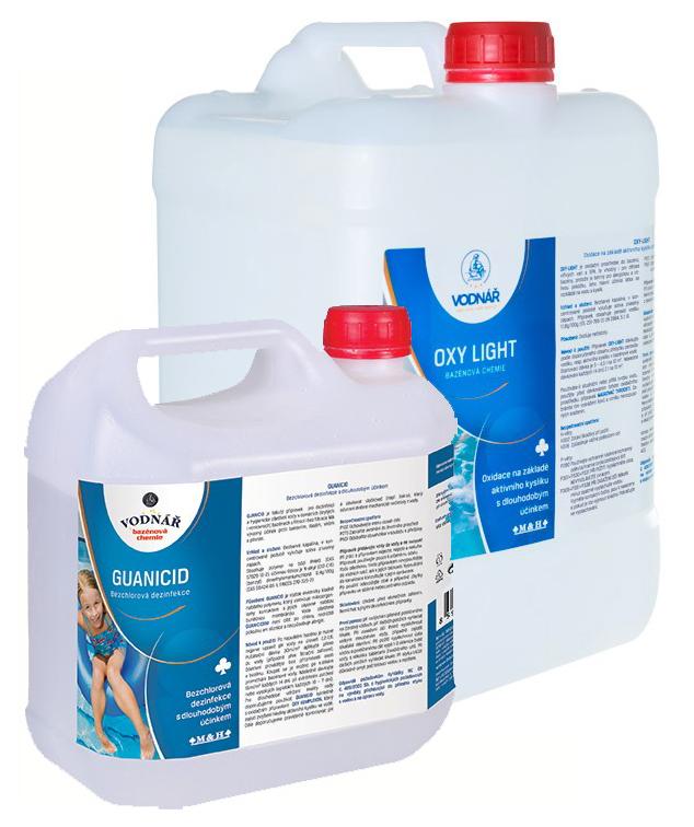 Vodnář Sada - čistý bazén bez chloru