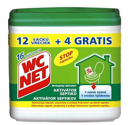 WC NET aktivátor septiků 288g