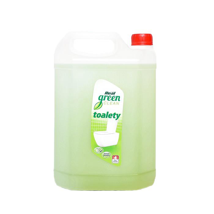 Real Green Clean Toalety gelový prostředek na toalety 5l